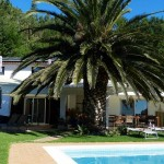 Voorkant Bed and breakfast The Art of Joy Monchique Algarve Portugal