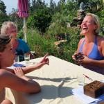 Tarot en Wandelweek bij The Art of Joy Monchique Algarve, lachen en leren