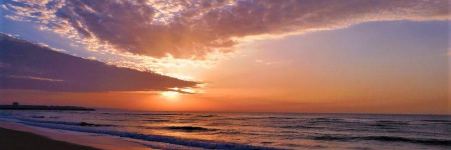 Sunrises & sunsets Meia Praia
