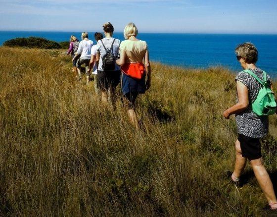 Wandelen, yoga en op Adem komen II