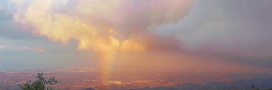 Zonder regen geen regenboog