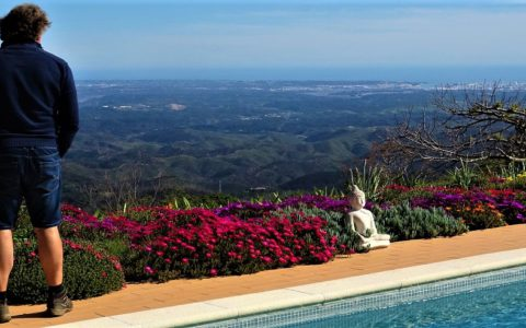 Vluchten naar de Algarve? The Art of Joy before take off