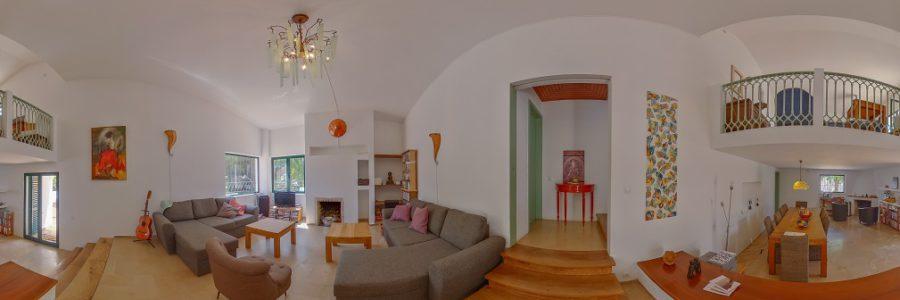 Artistiek huis met Iberische invloeden